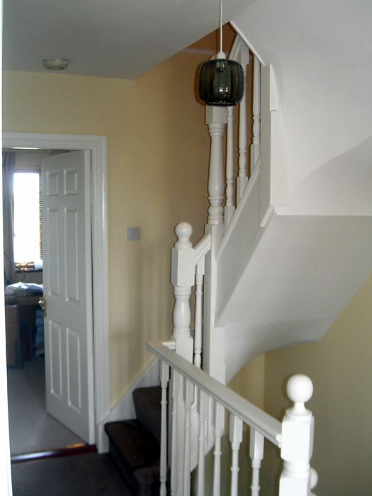 Standard Attic Stairs [Click to enlarge image] & STAIR TYPES - Attic Conversions Dublin