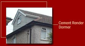 Cement Render Dormer